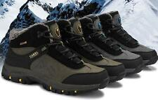 Mens Ankle Boots winter Warm Fur snow work casual outdoor athletic hiking Shoes