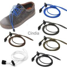 Elastic Easy Fastening Shoe Laces Lock Shoelace Trainers Running Marat Sports