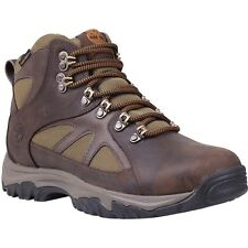 Men's Timberland Bridgeton Mid Waterproof Hiker Boot Brown / Olive Leather 5735A