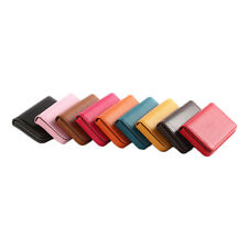 1 Pc New Pocket PU Leather Business ID Credit Card Holder Case Wallet  LE