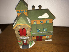 MCGREBE CUTTERS & SLEIGHS- DEPT 56 NEW ENGLAND VILLAGE #56405