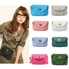 Women Mini Leather Messenger Handbag Satchel Crossbody Shoulder Bag Tote Purse