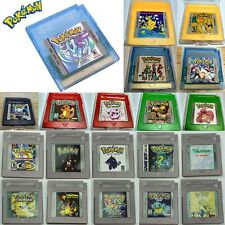 Xmas Game Version For Nintendo Pokemon GBC Game Boy Color Yellow Blue Console