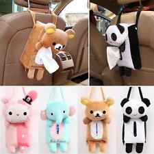 Animal Plush Soft Car Seat Home Tissue Box Paper Napkin Cover Holder Case Toy LI