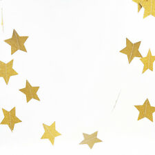 Gold Glitter Star For Birthday Holiday Party Wedding Party Celebration Decor 2M