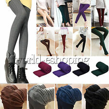 Womens Skinny Slim Stretch Tights Thicker Winter Warm Pants Jeggings Pantyhose