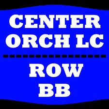 2 TIX CEDRIC THE ENTERTAINER 12/31 ORCH LC ROW BB TOWER THEATRE UPPER DARBY