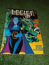 L.E.G.I.O.N. '89 # 8 signed by writer Alan Grant Lobo Brainiac Barry Kitson Keit