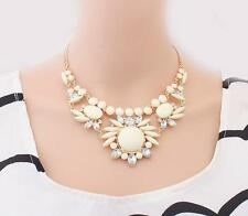 Womens Mixed 1 Pcs Jewelry​ Bubble Statement Crystal Bib Choker Hot Necklace