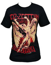 Led Zeppelin Wings fashion rock band graphic vintage t-shirt tee top Size M L