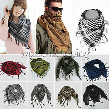 Lightweight Military Arab Tactical Desert Army Shemagh KeffIyeh Scarf Warm Shawl
