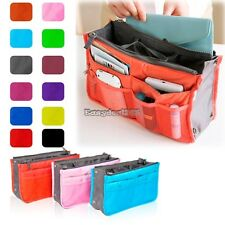 Women Travel Insert Handbag Organiser Purse Large Liner Organizer Tidy Bag ED