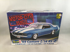 Revell 1969 Camaro Z/28 RS 1:25 Scale Plastic Model Kit 85-7457 Open & Started