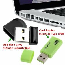 8GB Gift Waterproof Mini tiny USB 2.0 Memory Flash Stick Pen Drive ME126 LOT EIG