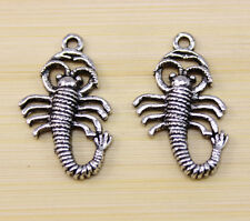 20/40/100 pcs Very lucky insects  Tibet silver charm pendant 30x18 mm