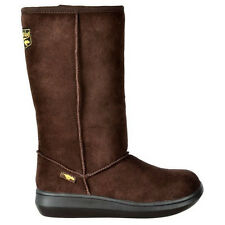 Rocket Dog Sugar Daddy Womens Boots Winter Casual Cow Suede Ladies Brown