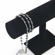 Velvet T-Bar Jewelry Rack Bracelet Necklace Stand Organizer Holder Display GE