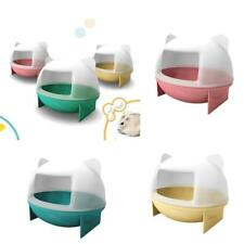 Hamster Mouse Gerbille Pet Bathroom Cage Box Bath Sand House Toy Toilet 3 Colors