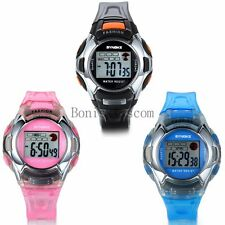 Luxury LED Digital Alarm Day Student Boy Girl Wrist Watch Sport Watch Waterproof