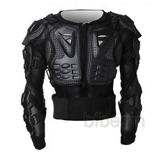 Motorcycle Racing Full Body Armor Jacket Spine Chest Protection Gear M -XXXL
