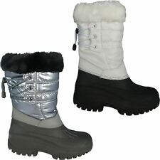 Groundwork Lace Up Fur Lined Rubber Grip Winter Snow Mucker Yard New Ankle Boots