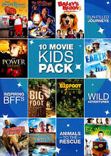 10 Movie Kids Pack (DVD, 2011) Over 14 Hours, 3 disc set   NEW
