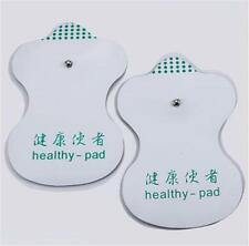 White Electrode Pads For Tens Acupuncture Digital Therapy Machine Massager CEW