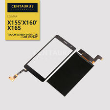 Digitizer + LCD Display For LG Prime II X170Q MAX X155 X160 X165 Touch Screen