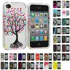 Design Color Hard Snap-On Skin Case Cover for Apple iPhone 4 4G 4S Accessory