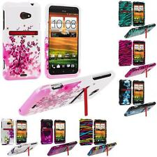 For HTC EVO 4G LTE Sprint Phone Design Hard Snap-On Case Cover