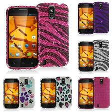 For ZTE Force N9100 Bling Color Rhinestone Case Cover Accessory