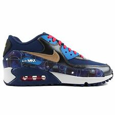 Nike Air Max 90 Premium Leather Multi Youths Trainers