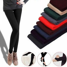 NEW Warm Winter Leggings Thick Fleece Stretch Skinny Pants Trousers Footless DW