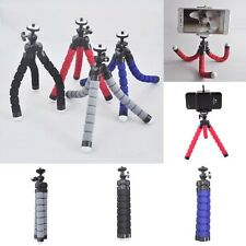 Mini Flexible Tripod Mobile Phone Stand Holder For Camera Video Iphone Samsung