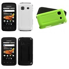 For Samsung Galaxy Prevail M820 Hybrid Rugged Impact Hard Soft Case Phone Cover