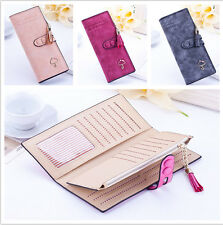 Womens Fashion Clutch PU Leather Wallet Handbag Lady's Coin Card Holder Purse