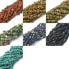 "Natural Freeform Chips Loose Gemstone Turquoise Beads Strand 34"" Multitype"