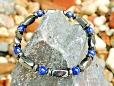 Men Women Magnetic Bracelet Anklet Necklace Hematite and Gemstone See 9 choices