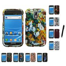 For Samsung Hercules T989 Design Snap-On Hard Case Phone Cover Stylus Pen