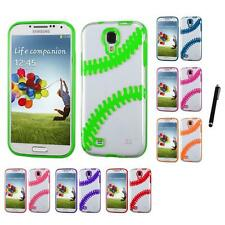 For Samsung Galaxy S4 TPU Hard Case Skin Phone Cover Stylus Pen