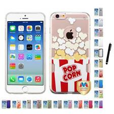 For Apple iPhone 6/6S [4.7] TPU Hard Case Skin Phone Cover Stylus Pen