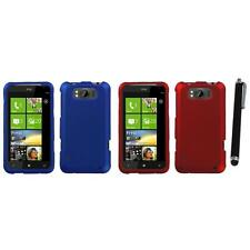 For HTC Titan X310a Snap-On Hard Case Phone Skin Cover Accessory Stylus Pen