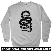 Snake Men's Sweatshirt - Crewneck S-3X - Serpent Reptile Slytherin Pet Charmer