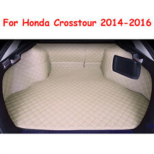 Trunk Mat Cargo Boot Liner Auto Car Waterproof Fit For Honda Crosstour 2014-2016