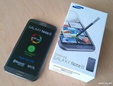 NEW BOXED SAMSUNG GALAXY NOTE 2 UNLOCKED SMARTPHONE WHITE, BLACK & GREY COLOURS