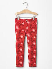 NWT BABY GAP RED 1969 SERIOUS STRETCH HEART SKINNY JEANS 98%COTTON 2%SPANDEX