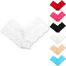 Women's Sexy Seamless Floral Lace Lingerie Panty Briefs Boxer Shorts Underwear