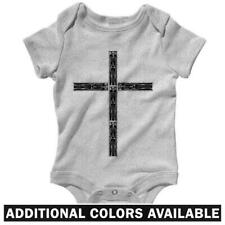 Coffin Cross One Piece - Baby Infant Creeper Romper NB-24M  Gift Day of The Dead