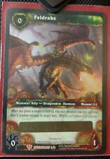 World of Warcraft - Unscratched Feldrake Loot Card (WOW TCG)