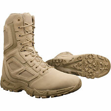 Magnum Mens Desert Tan Leather Elite Spider 8.0 Tactical Boots Light